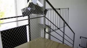 Redes proteccion balcones vetanas antipalomas y mascotas - Proteccion escaleras ninos ...