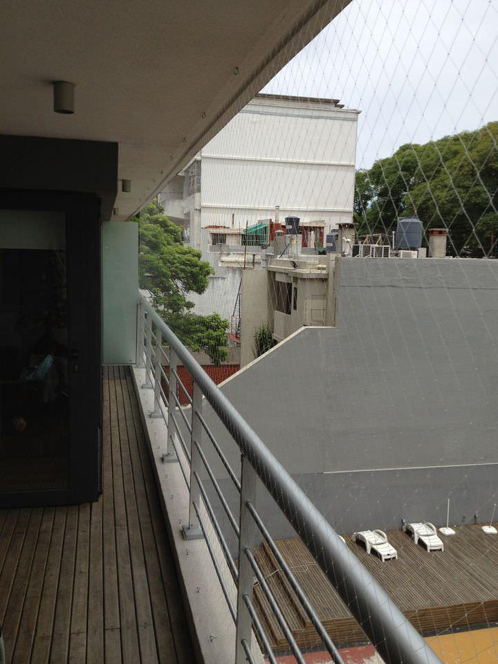 Balcon con Tanza fina