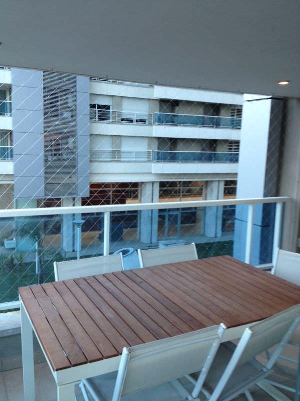 Instalación de red en Balcón