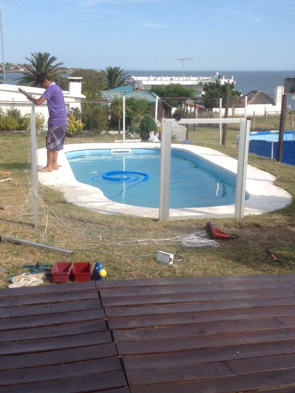 Redes de protección para piscina